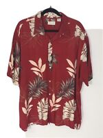 NATURAL ISSUE Men's XXL Hawaiian Camp Silky Touch 100% Rayon Short Sleeve Shirt