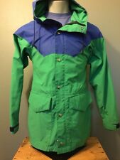 Vtg Banana Parka Jacket 70s 80s Hood XS Shell Rain Ski Coat Retro USA Hiking Men