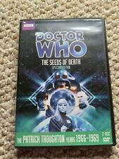 New listing Doctor Who The Seeds of Death 2 Disc Special Edition Dvd Patrick Troughton