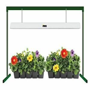 iPower 54W 4 Feet T5 Fluorescent Grow Light Stand Rack for Seed Starting Plant G