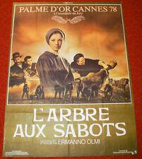 Affiche de cinéma : L'ARBRE AUX SABOTS de ERMANNO OLMI