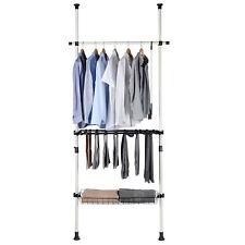 wardrobe sorting Pants & Shelf Hanger Clothing Rack Clothes Organizer Hanger