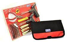 Kit Reparador de pinchazos GRYYP para coche y moto, con bolsa de transporte K002