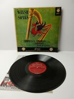 THOMAS SIMON HANNEMAN welsh songs LP  LL 1249 1A/1A 1st Press  Vinyl 1956
