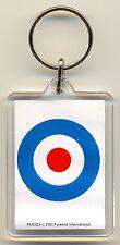 Target Symbol Acrylic Keyring MOD/Ska