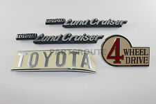 Toyota Land Cruiser bj40 portón trasero emblema logotipo en letras 4 Wheel Drive Emblem