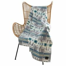 Pendleton Throw Blanket Home Collection Harding Luxe Gray Multi Color 50 X 70