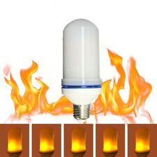 LED Flame Effect Fire Light Bulb 2835SMD Flickering Flame Lamp Simulated Party
