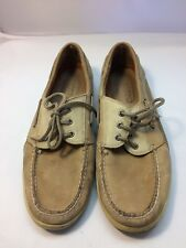 Sperry Topsider Billfish Tan Brown Leather Boat Shoes Men's Sz 13 M