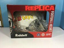 Kb Toys Promo Riddell Full Size Football Helmet Very Rare New Never Released