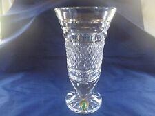 """Waterford Crystal 7"""" Footed Vase!"""