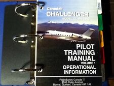 Canadair Challenger CL-600-2B16 Pilot Training Manual Vol. 1 Operational Info