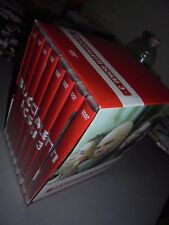 OPERA COMPLETA BOX COFANETTO 8 DVD BRACCIALETTI ROSSI 3 + 8 POSTER