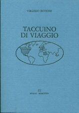 Virgilio BOTTINI, Taccuino di viaggio. Lucini libri 1985