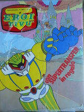 Gli Eroi della Tivù 37 1981 Jeeg Robot -- IMBUSTATO!!!