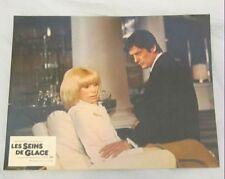 Alain Delon Mireille Darc Set 7 Lobby Cards Les seins de glace Vintage Photos
