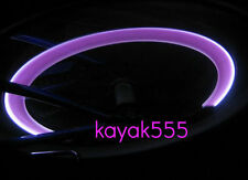 Set 4 NEON LED VALVE STEM CAR RIMS TIRE LIGHTS FOR KIA HYUNDAI NEW HOT SALE