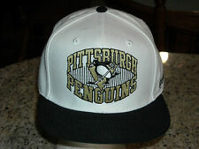 NHL OFFICALLY LICENSED PITTSBURGH PENGUINS REEBOK SNAP BACK HAT