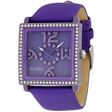 Haurex Italy Diverso Purple Dial Purple Strap Ladies Watch VF369DVV