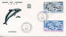 FDC / T.A.A.F. TERRES AUSTRALES TIMBRE N° 143/144 / FAUNE /