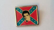 Elvis Presley rebel logo the King of rock n roll vintage music badge artist