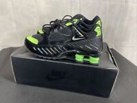 Unisex Nike Shox Enigma SP Uk 6 New Boxed Black Lime Blast