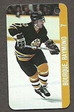 1982-83 Renaissance Keychain Boston Bruins Team Set, Pete Peters, Ray Bourque
