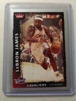 Lebron James 2008-09 NBA Fleer Cleveland Cavaliers Basketball Card #23