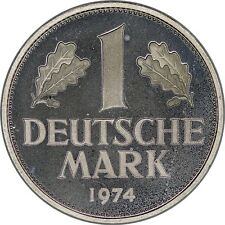 Germany 1 Mark 1974-D Proof *~*Low Mintage Proof Coin*~*