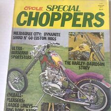 Special Choppers Magazine Berserko Sportsters Winter 1977 071817nonrh2