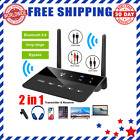 Receiver Transmitter 80M Bluetooth 5.0 RCA  3.5mm Aux Wireless Easy To Use Best