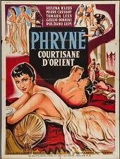 FRINE, COURTESAN OF THE ORIENT [1954] Original French Grande Poster *** RARE ***