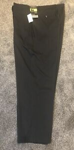 Callaway Golf Pants Mens 48x32 Black Opti Stretch. Classic Fit Pants NWT MSRP$85