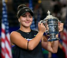 Bianca Andreescu Professional Tennis UNSIGNED 8x10 Photo 2019 US Open