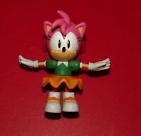 "3"" Classic Amy Rose : Sonic The Hedgehog Jazwares Action Figure Toy SEGA"