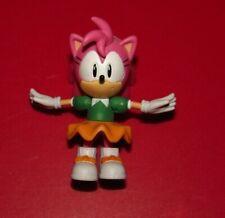 "3"" Classic Amy Rose : Sonic The Hedgehog Jazwares Action Figure Toy SEGA"