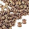 100x Einpressmutter M2 3mm Messing Gewindeeinsatz Rändelmutter Rändelmuttern ye