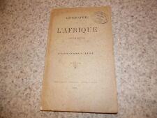 1892.Géographie afrique chrétienne.Proconsulaire.Toulotte