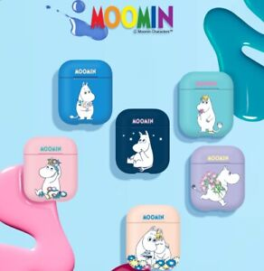 Official Cute Cartoon Moomin AirPods Earphone Case Cover 100% Authentic