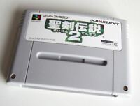 Secret of Mana 2 Japanese SNES Super Famicom Nintendo Import SEIKEN DENSETSU 2
