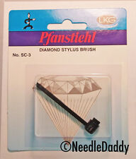 PfanstiehL SC-3 Phono Turntable Needle Cartridge Stylus Cleaner Cleaning Brush
