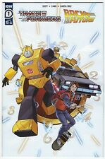 TRANSFORMERS BACK TO THE FUTURE # 1 VARIANT 1:10 COVER IDW NM