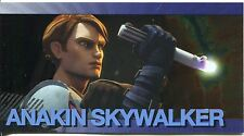 Star Wars Clone Wars Widevision Foil Character Chase Card #1