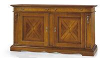 Credenza 1487 con 2 porte 2 cassetti con foglia intarsiata Finitura Bassano