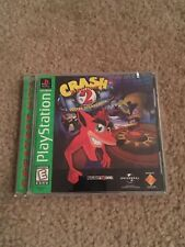 Crash Bandicoot 2 Cortex Strikes Back Greatest Hits Ps1 Playstation