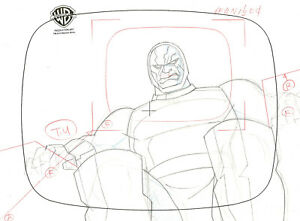 Superman Animated Series-Original Prod Drawing- Darkseid-Little Girl Lost Pt 2
