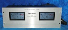 Phase Linear 400 Stereo Power Amplifier 210 Watts Per Channel Into 8 ohm 100dB