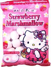 HELLO KITTY Strawberry Marshmallow Candy W/ Jelly 3.1 oz Free Shipping !!