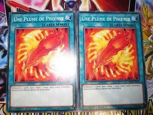 YU-GI-OH! COM PLAYSET (LOT DE 2) UNE PLUME DE PHOENIX LEHD-FRA26 ED 1 FRANCAIS