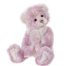 Fiona, a 15.5 inch Plumo Bear from the 2020 Charlie Bears Collection
